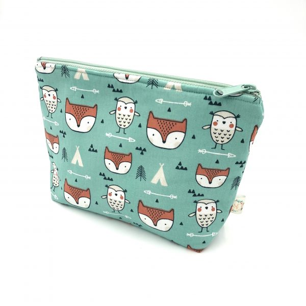 fox and owl pouch