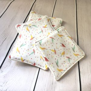 wipes reusable feathers washable baby changing pad