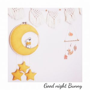 hoop decoration bunny moon