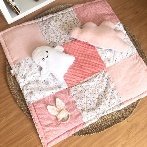 play mat pink baby girl