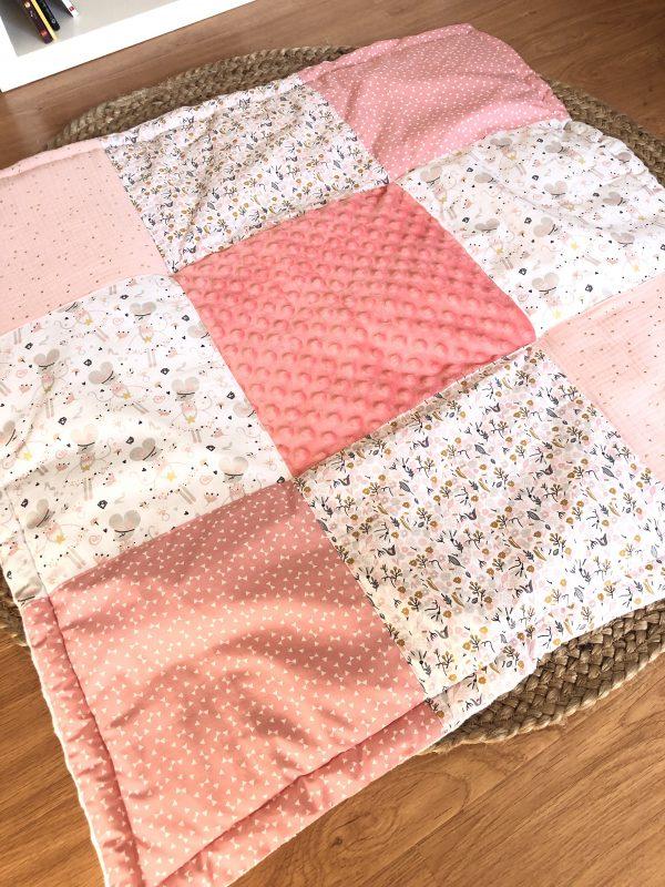 play mat pink baby girl
