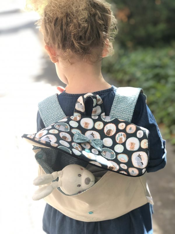 personalized daycare backpack