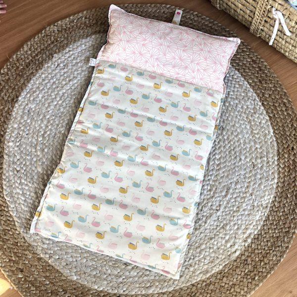 travel mat pink baby girl comfy big size