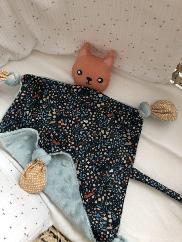 baby comforter cat boy cuddle soft