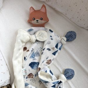 baby comforter toy fox cuddle
