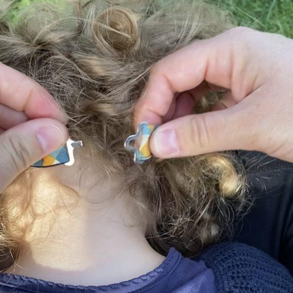 headband baby girl - little girl bow attach