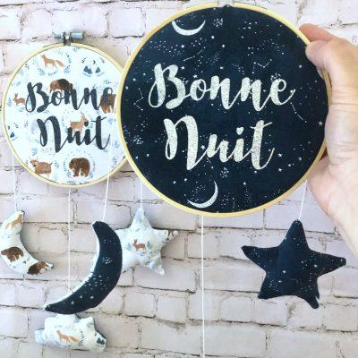 hoop custom bonne nuit french words